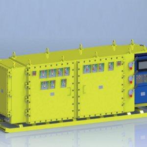 Устройство взрывозащищенное для подземных машин УВПМ